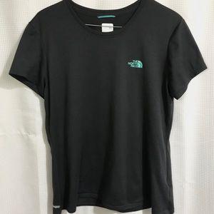 The North Face- Grey Vapor Wick Tee Shirt (L)
